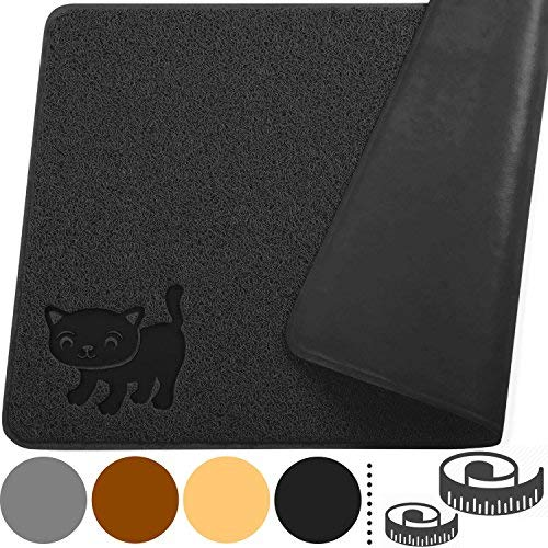 Mat Professional Ultimate Touch - Smiling Paws Pets Cat Litter Mat, BPA Free, XL Size 35