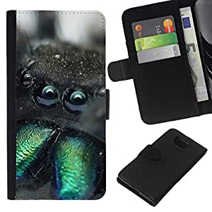All Phone Most Case / Oferta Especial Cáscara Funda de cuero Monedero Cubierta de proteccion Caso / Wallet Case for Samsung ALPHA G850 // Funny Weird Spider Macro Tarantula