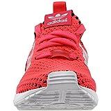 adidas Originals Girls' ZX Flux PK J Sneaker, Turbo