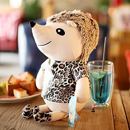 Peluche Moonyue Simpatico Pupazzo di Leopardo Creativo Bambola Grande 25-50 cm Riccio Giocattolo di Peluche Simulazione Piccola Riccio Bambola Regalo di Compleanno per Bambini B 35 cm