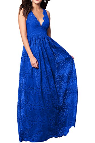 Ivydressing - Vestido - trapecio - para mujer Royalblau-1