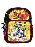16″ Lego Ninjago Masters of Spinjitzu Large Backpack Book Bag, Bags Central