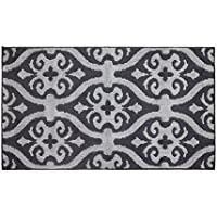 Jean Pierre Nina 28 x 48 in. Loop Accent Rug, Flat Grey/Grey