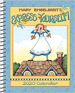 Mary Engelbreit Calendar 2020 Mary Engelbreit 2020 Monthly/Weekly Planner Calendar: Express