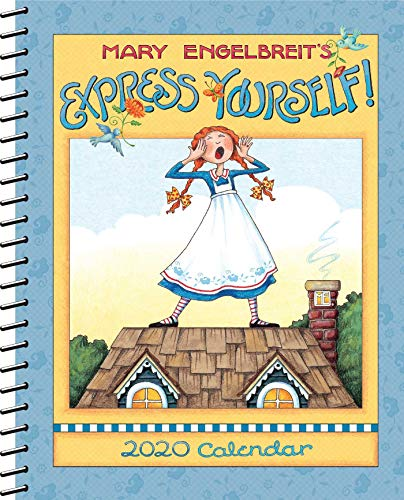 Mary Engelbreit 2020 Monthly/Weekly Planner Calendar: Express Yourself (Weekly Planning Calendar)