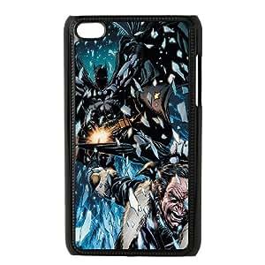 iPod Touch 4 Case Black Batman Chasing Villain Pwzce