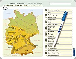 Ich Kenne Deutschland Deutschlands Gebirge Fur Die 3 Bis 5
