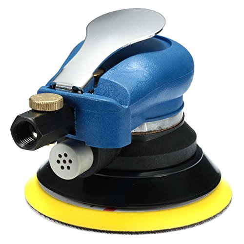 Hitommy 5 Inch Air Grip Random Orbital Palm Sander 125mm Air Hand Power Tool Polisher Panel