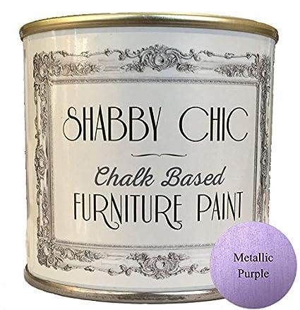 Mobili di metallo, colore: viola gesso, ideale per creare una shabby ...