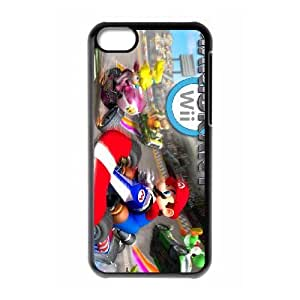 HD Beautiful image for iPhone 5c Cell Phone Case Black mariokart 6309 HOR9896053
