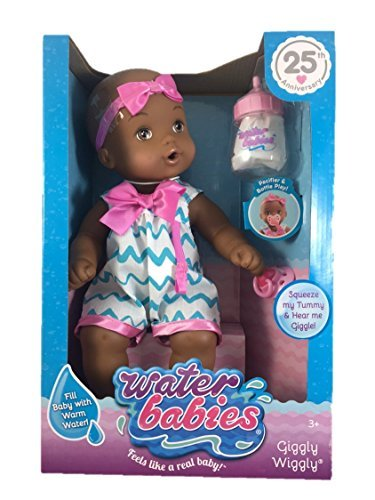 Search : Waterbabies Giggly Wiggly African American Doll by Playmates