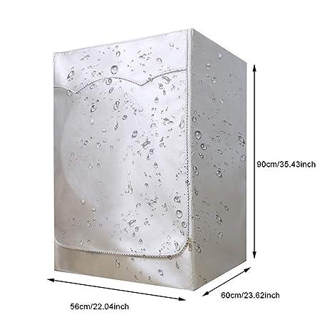 BAODANH Funda protectora para lavadora de carga frontal, protector ...