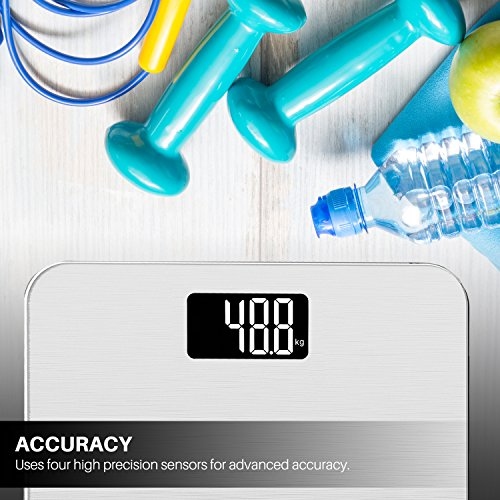 Smart Digital Weight Pounds,Silver
