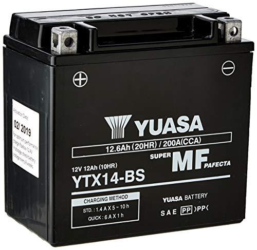 Yuasa YTX14-BS(WC) Onderhoudsvrije batterij