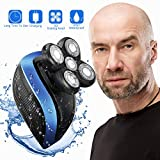 Electric Shaver Razor for Men Bald Head,Turnraise Upgraded Professional Wet&Dry Rechargeable Hair Razor
