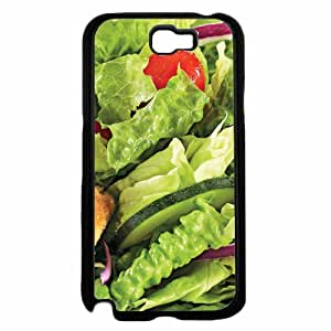 Zheng caseHealthy Salad- TPU RUBBER SILICONE Phone Case Back Cover Samsung Galaxy Note II 2 N7100