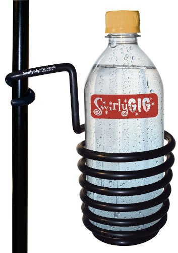 (SwirlyGig SG1000 Original Drink Holder for 1/2 Tubing, Black)