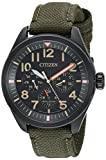 Citizen Men's  Military Quartz Stainless Steel Eco Drive Deal (Small Image)