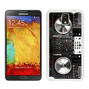 Fashion And Unique Samsung Galaxy Note 3 Case Designed With Numark NS6 Disc Jockey DJ Turntable White Samsung Note 3 Cover