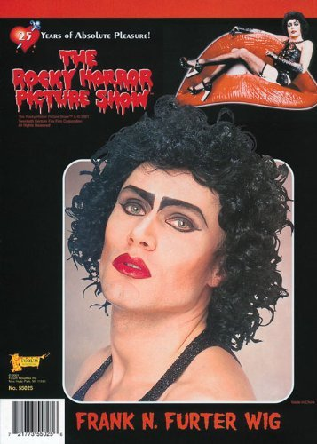 [Mens Rocky Horror Frank N Furter Wig by Struts Fancy Dress] (Rocky Horror Wig)