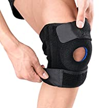 OMorc Knee Sleeve,Ultra Flex Breathable Knee Brace Support Neoprene Sleeve,Suitable for Basketball, Running, Crossfit, Weightlifting, Hiking and Other Sports&Outdoor Activities