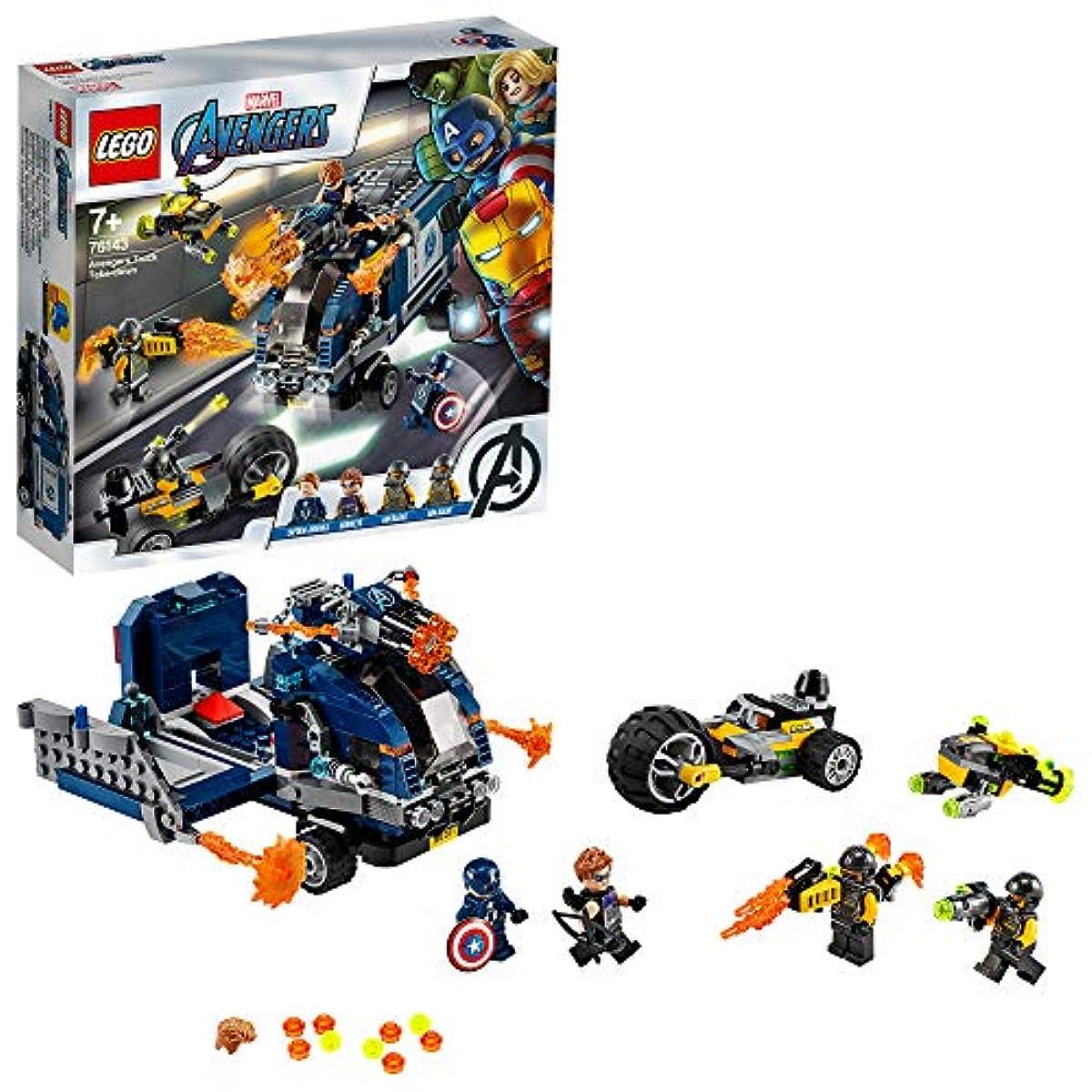 [해외] 레고 레고 어벤져스 트럭 급습 76143