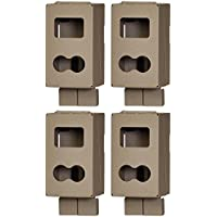 (4) CUDDEBACK CuddeSafe 3327 C & E Series Game Trail Camera Metal Security Cases