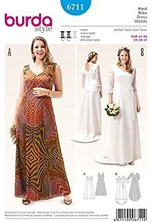 543b5203dd58 Burda da donna e cartamodello per abito da sposa 6711  Free Minerva Crafts  Craft-Guida