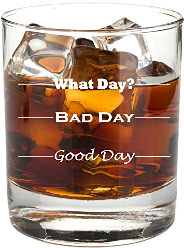 Good-Day-Bad-Day-Funny-11-oz-Rocks-Glass-Permanently-Etched-Gift-for-Dad-Co-Worker-Friend-Boss-Christmas-RG13