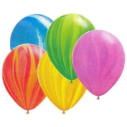 Qualatex AX-AY-ABHI-109845 10 per package 11 Rainbow Agate Assortment Balloons