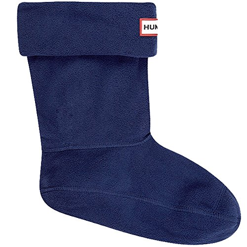 (Hunter Adults Boxed Short Welly Boot Socks (US F (5-7) Med, Navy))