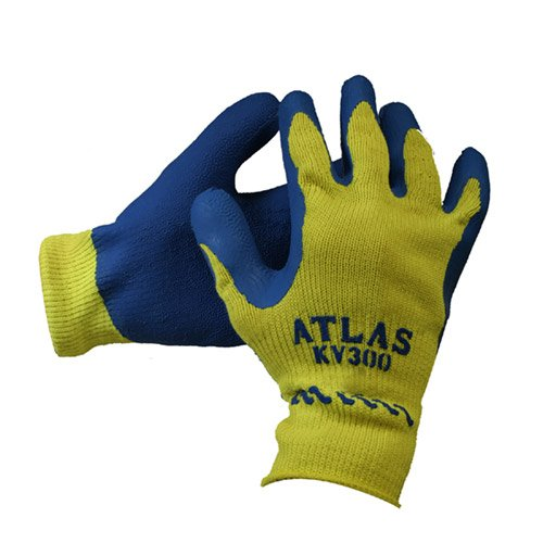 Atlas KV300 Extra Large Kevlar Cut Resistant Work Gloves - 6 Pair