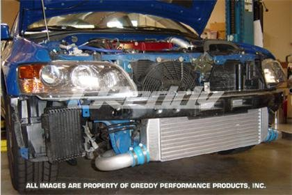 GReddy 12030429 (Intercooler) Ls Spec Stock Turbo 24 Core 280X600X76Mm (Piping Kit Recommended) Special (Greddy Intercooler)