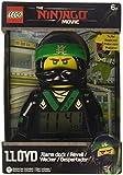 LEGO Mini Figure Ninjago Movie Lloyd Minifigure Alarm Clock