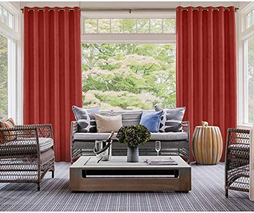 cololeaf Extra Long Blackout Curtain,Themal Insulated Grommet Eyelet Top Nursery Infant Care Curtain