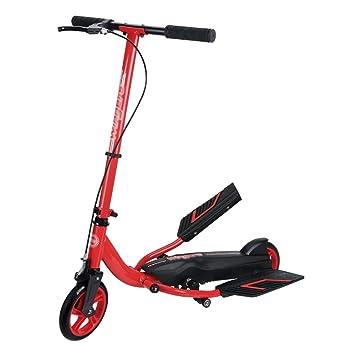 Patinetes de tres ruedas Kick Scooter Plegable para Niños/Adulto, 2 Ruedas Pedal Ancho Bicicleta No Ajustable, No Eléctrico: Amazon.es: Deportes y aire ...