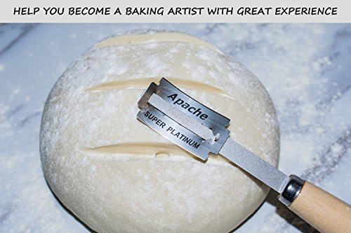 Aeaker Premium Hand Crafted Bread Lame with 5 Blades Included - Best Dough Scoring Tool with Safe Storage Box - Perfect Baking Gift by aeaker (Image #5)
