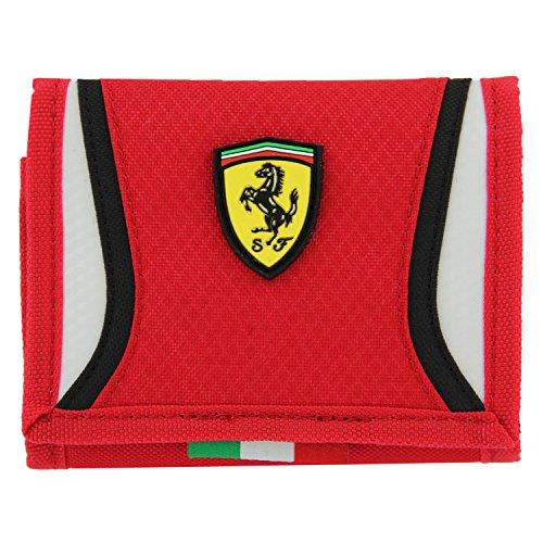 PUMA Men's Ferrari Replica Wallet, Rosso Corsa, One Size