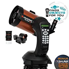 The best telescope is the one used often to enjoy the beauty and intrigue of the night sky. For those searching for telescopes for astronomy beginners that are infused with the latest computer technology, Celestron's NexStar 5SE Schmidt-Casse...