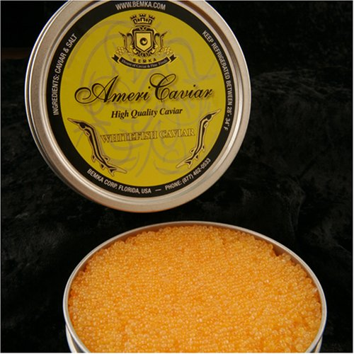 Whitefish Caviar Golden 14 oz - New Look!