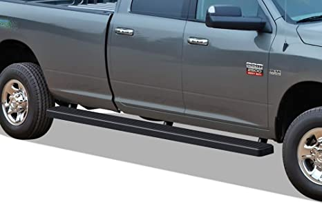 Wheel To Wheel Running Boards >> Aps Wheel To Wheel Running Boards 5 Inches Custom Fit 2009 2018 Ram 1500 Crew Cab Pickup 6 5ft Bed 2010 2019 Ram 2500 3500 Nerf Bars Side Steps