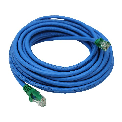 Cable Matters Cat6 Snagless Crossover Patch Cable in Blue 25 Feet