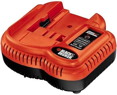Black & Decker FSMVC - Cargador de batería de 9,6 V a 18 V ...