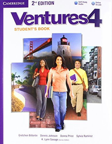 Ventures Level 4 Super Value Pack Student's Book with Audio CD, Workbook with Audio CD, Online Workbook