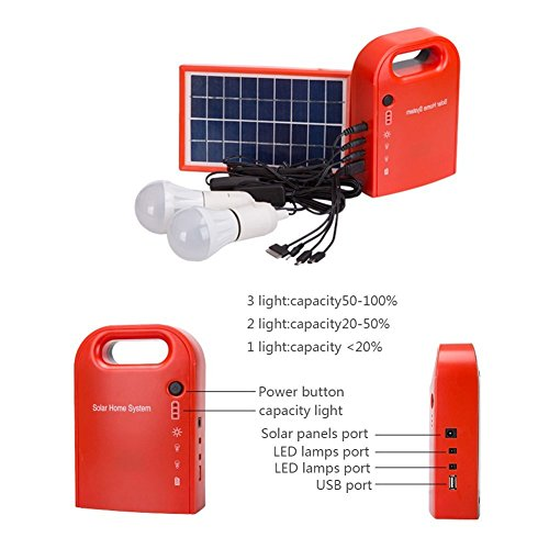 Small Solar Lighting System - 1