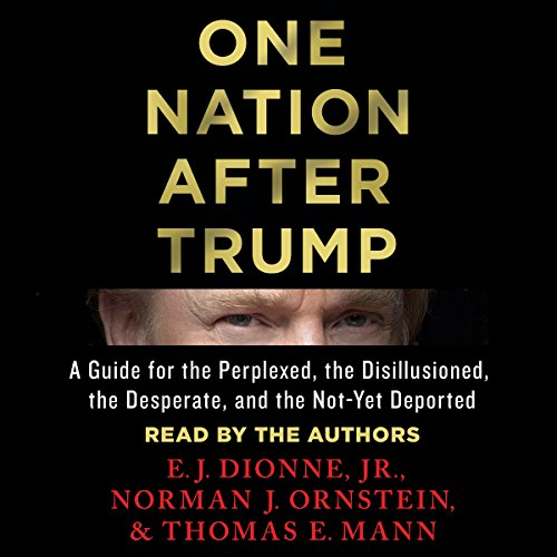 One Nation After Trump: A Guide for the Perplexed, the Disillusioned, the Desperate, and the Not-Yet Deported Audiobook [Free Download by Trial] thumbnail