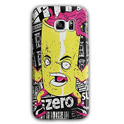 [Can of Juice Mascot Taste Sugar NEW Black 3D Samsung Galaxy S6 Edge Plus Case | Wellcoda] (Vending Machine Costume Ideas)