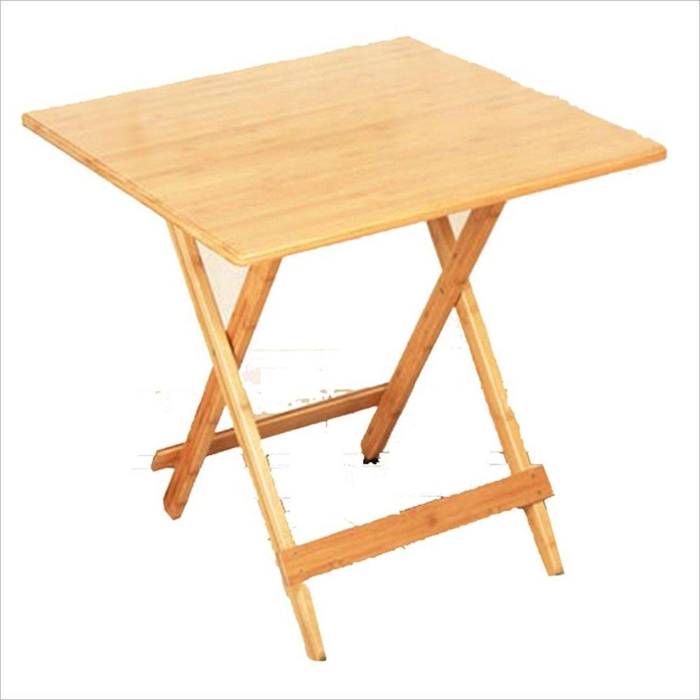 HAUYU テーブル ホーム割引折りたたみ木製のテレビディナーラップトップスナックテーブル - ナチュラルウッド 耐久性のある (サイズ さいず : L90cm x H75cm) B07DCGRTH9  L90cm x H75cm
