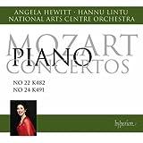 Mozart: Piano Concertos Nos 22 & 24 [Angela Hewitt] [Hyperion: CDA68049]