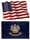 Louisiana State Flags (5×8 US Combo)